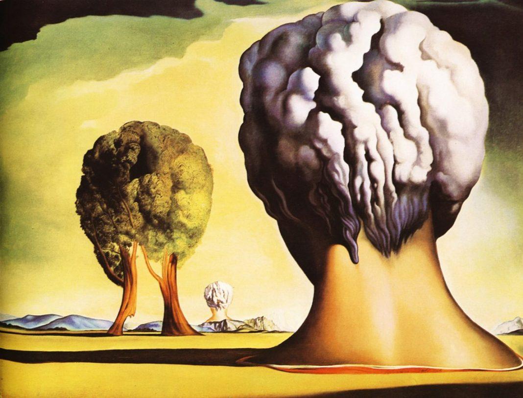 Salvador Dalí: Las tres esfínges Bikini (1947)
