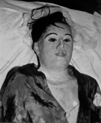 El estado del cadáver de María Elena Milagros Hoyos cuando fue encontrada por la policia