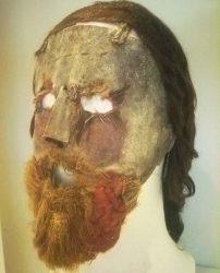 Máscara del ministro presbiteriano Alexander Peden (1663)