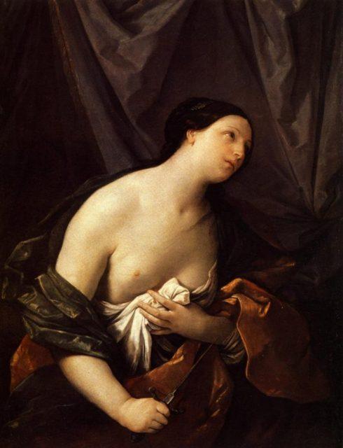 Guido Reni: Lucrecia (1626)