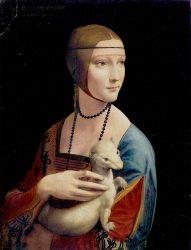 Leonardo Da Vinci: La dama del Armiño (1490)