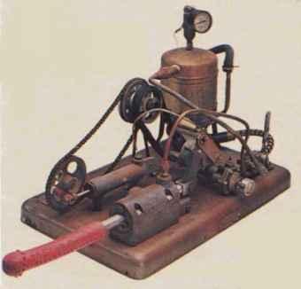 Uno de los primeros vibradores de la historia.