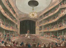 El anfiteatro de Philip Astley, considerado el primer circo moderno del mundo (1808)