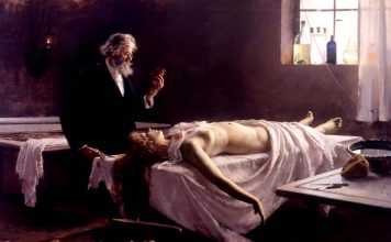 Enrique Simonet: Anatomía del corazón (1887)