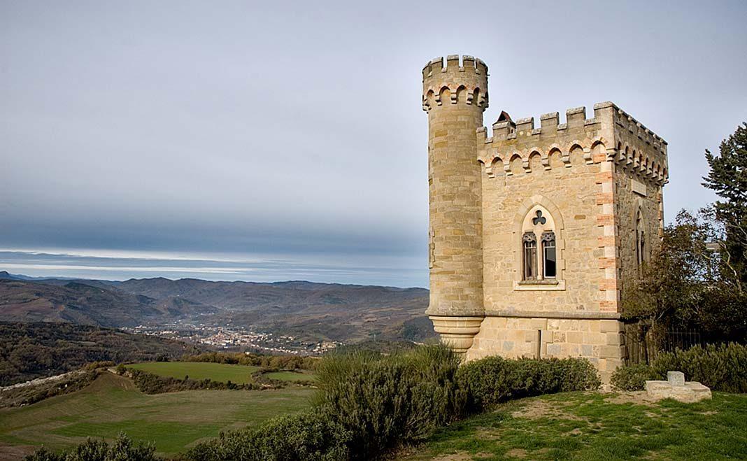 Torre de Magdala, en Rennes-le-Château (foto de Ipernity).