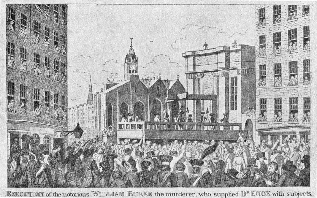 La ejecución de William Burke en la prensa de la época