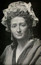 Retrato de Madame Tussaud, por parte de su bisnieto John T. Tussaud.
