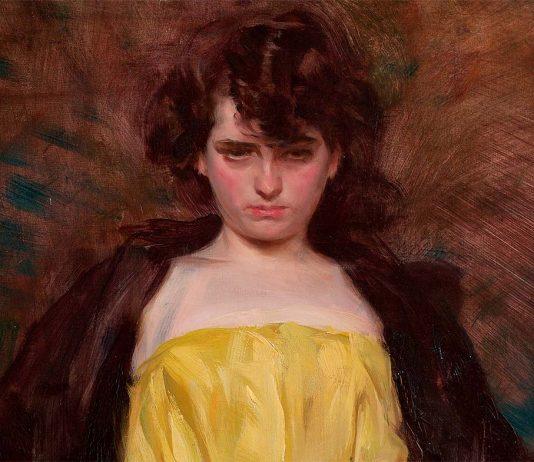 Ramón Casas y Carbó: La Sargantain (1907) (Detalle)