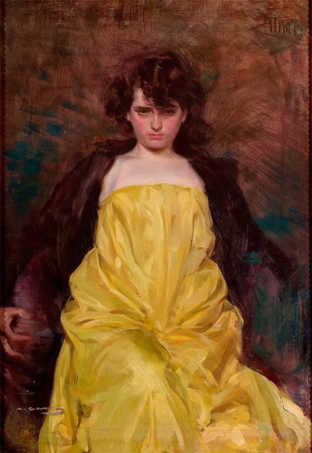 Ramón Casas y Carbó: La Sargantain (1907)