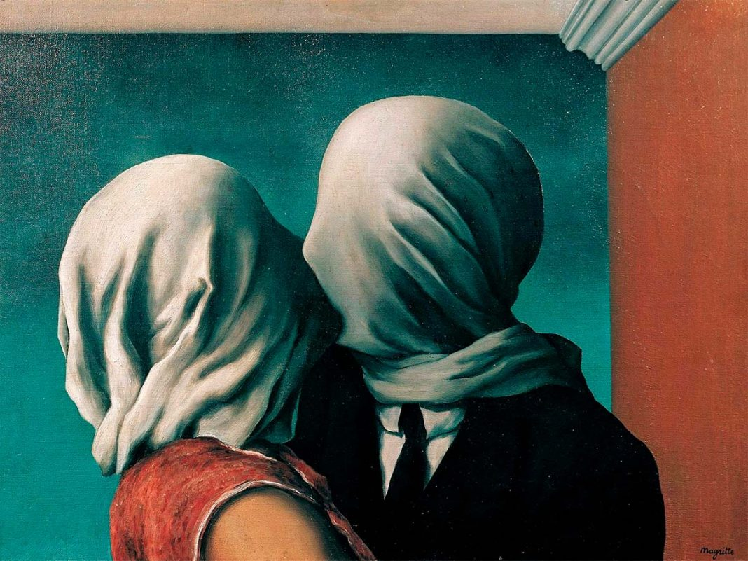 René Magritte: Los amantes (1928)