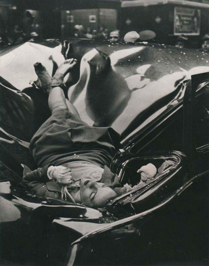 El suicidio más hermoso. Fotografía de Robert Wiles del suicidio de Evelyn McHale.