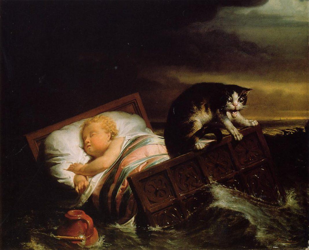 Lawrence Alma-Tadema: La inundación del Biesbosch en 1421 (1826).