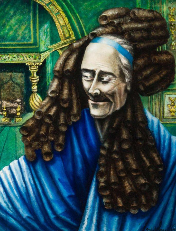 Rachel Baes: Voltaire con la peluca de Leibniz (1967)