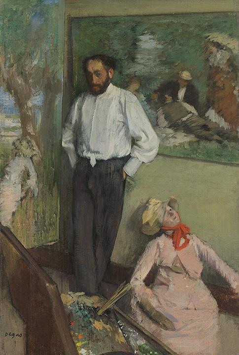 Degas: Retrati de Henri Michel-Lévy (1878)