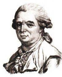 Retrato de Franz Anton Mesmer