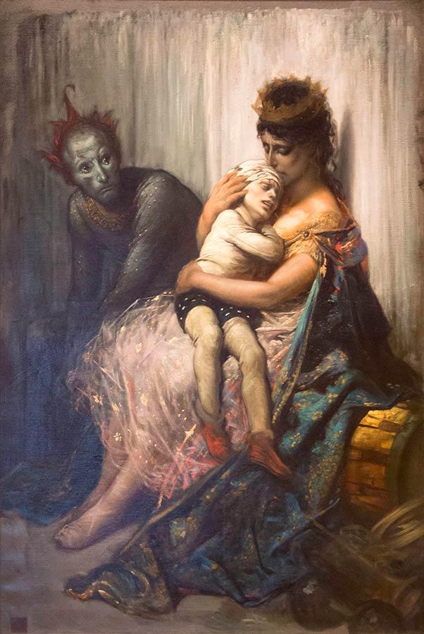 Gustav Doré: Les saltimbanques (1873)