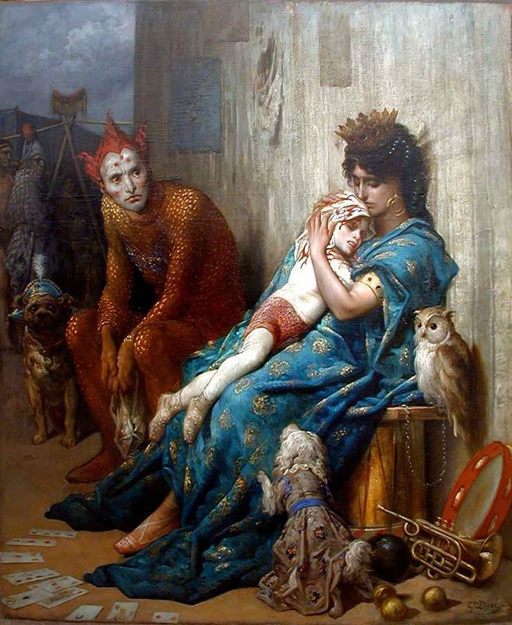 Gustave Doré: Les Saltimbanques (1874)