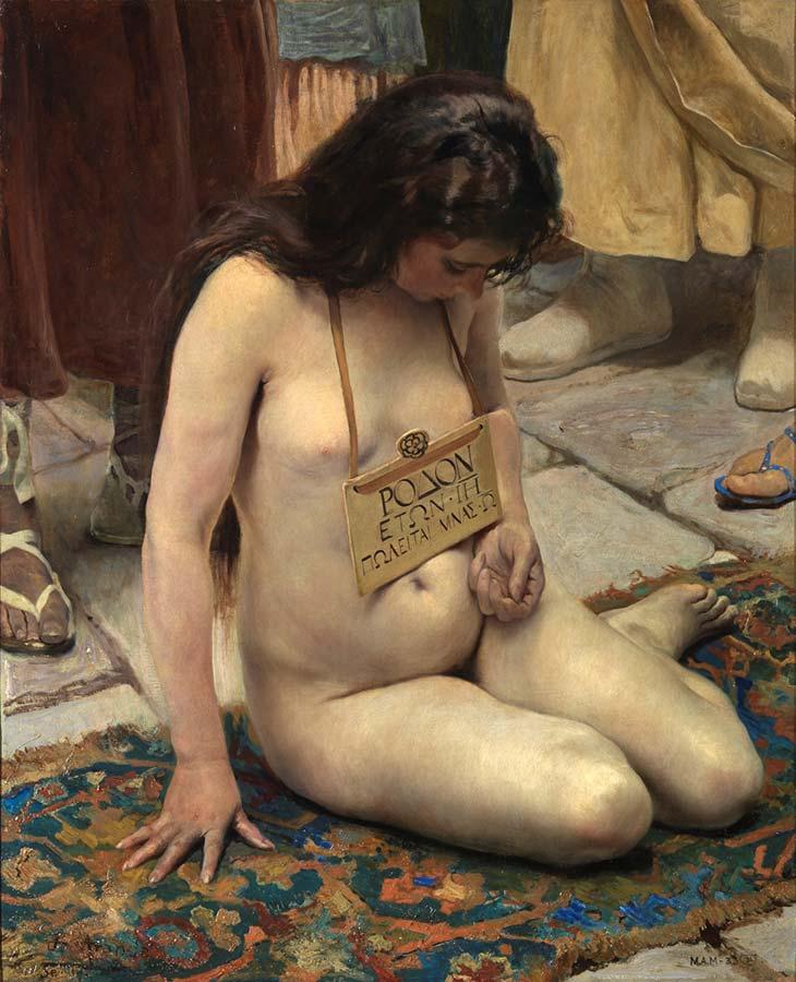 José Jiménez Aranda: Una esclava en venta (1897)